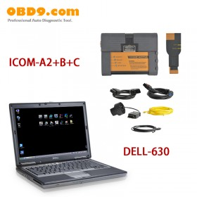 2017.03 ICOM A2+B+C Diagnostic & Programming Tool for BMW with Wifi Plus DELL D630 Laptop
