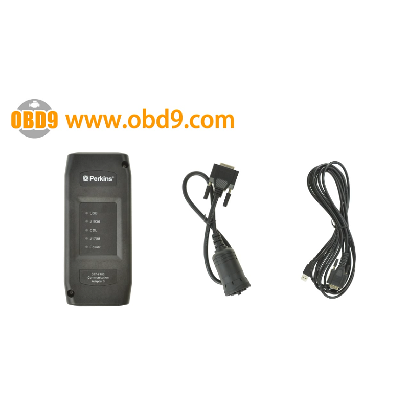 Perkins Communication Adapter 3 with diagnostic software EST
