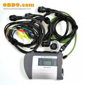 MB SD Connect Compact 4 Star Diagnosis 2017.7 with WIFI for Cars and Truck