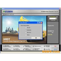 Hyundai Robex Diagnostic Tool (HRDT)
