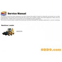 Hyundai Backhoe Loader HB90 HB100 Service Manual