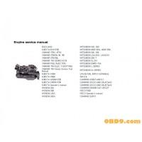 Hyundai Engines Service Manuals