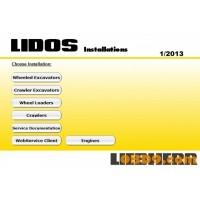 Liebherr 2013 Parts & Service Complete Set
