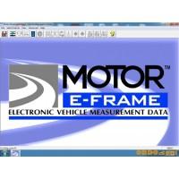 E-Frame Vehicle Dimensions Data [2013]