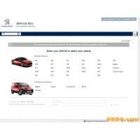Peugeot Service Box 2014