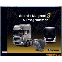 Scania SDP3 2.23.0 + DONGLE