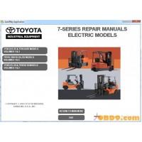 Toyota Forklift 7-series Repair Manuals