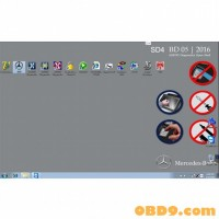 New 500GB 2016.5 MB SD Connect Compact C4 Software HDD with DELL D630 External Format Support WIN7 8 System