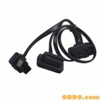 ableobd2 OBD to HUB 9Pin T Cable for ELM327 adblueOBD2 NitroOBD2 EcoOBD2 GPS Navigation Devices